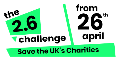 help save UK charities banner footer