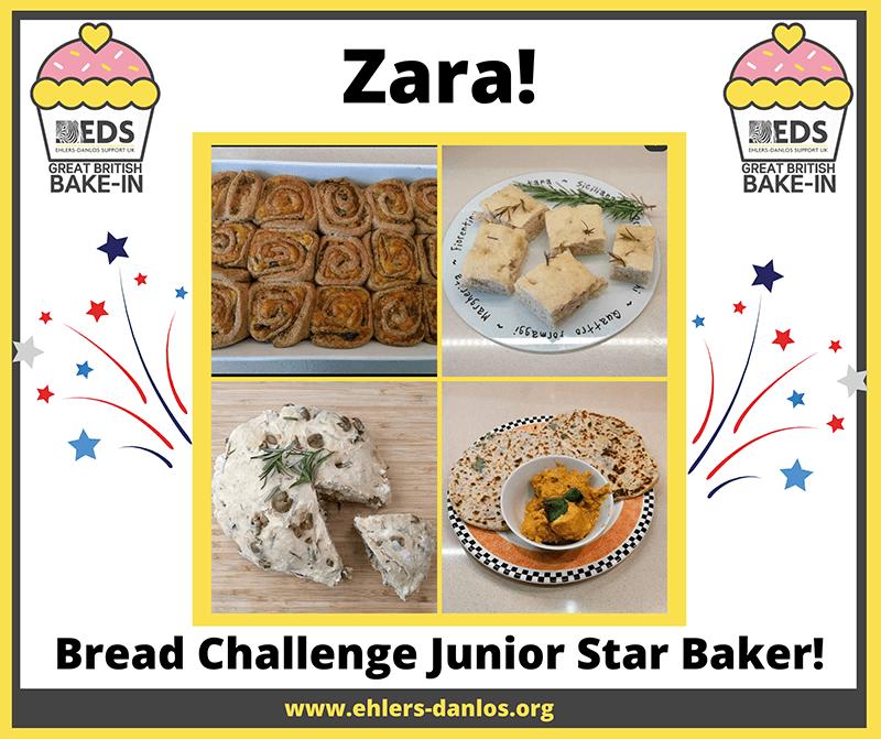 EDS UK bake In bread week junior winner