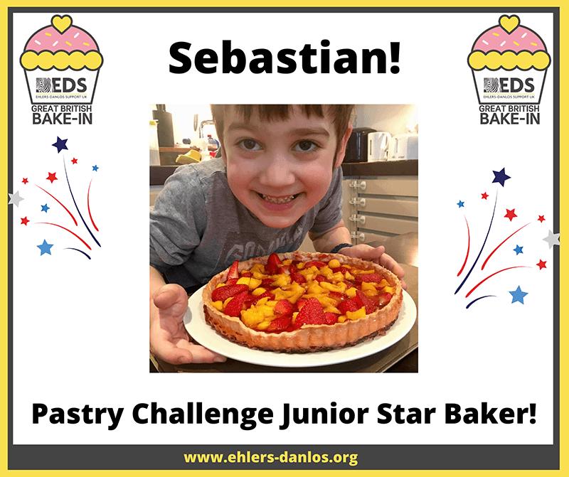 Bake In pastry Junior star baker, Sebastian