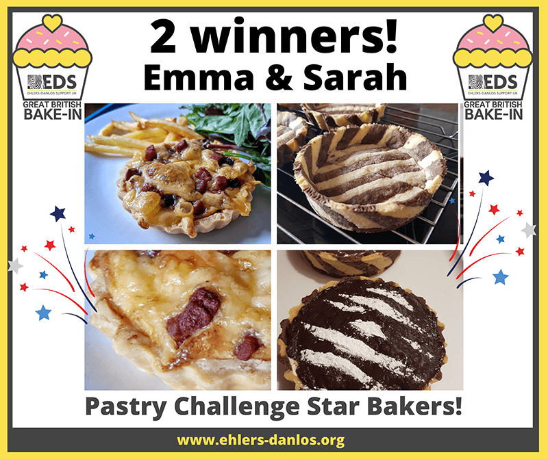 Bake-In adult pastry star bakers, Emma & Sarah