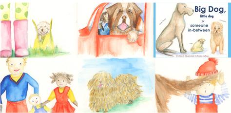 Big dog little dog book by Emily Joshua